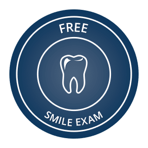 Free Smile Exam button Dr. Duane S. Shank, DDS Smithtown NY