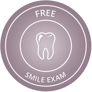 Free Smile Exam hover button Dr. Duane S. Shank, DDS Smithtown NY